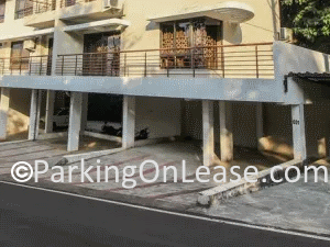 car parking lot on  rent near pundalik nagar in alto porvorim goa