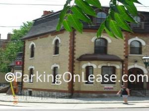 car parking lot on  rent near carlton st in cabbagetown